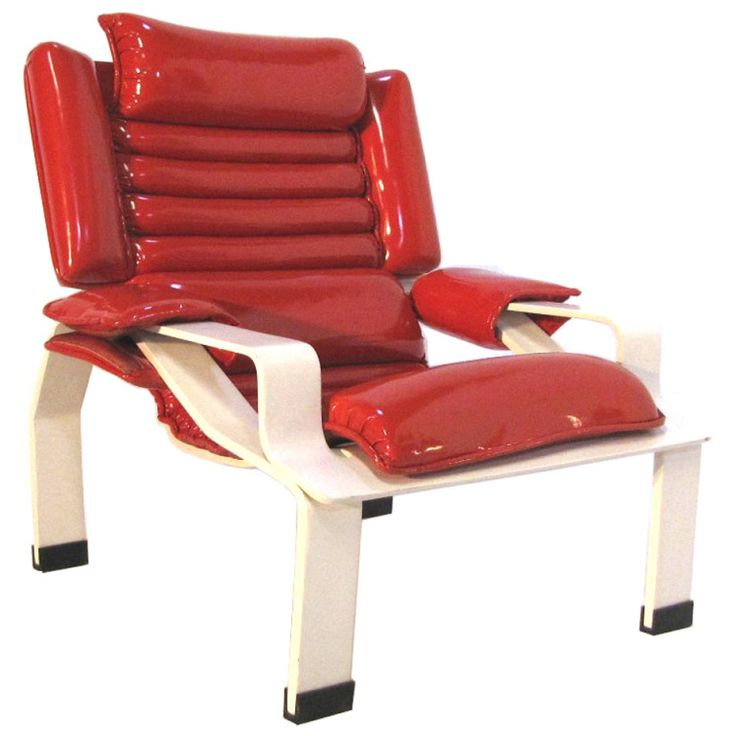 """Very Rare Armchair """"Superleggera"""" Joe Colombo, First Edition 