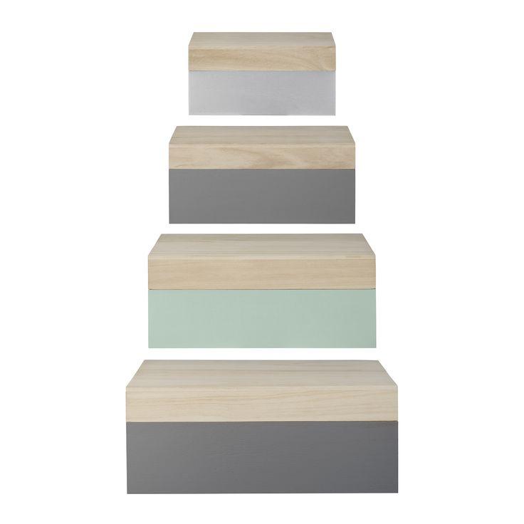 Pastellfarbende Boxen für ein stylisches verstauen von Bloomingville @ABOUT YOU http://www.aboutyou.de/p/bloomingville/boxen-2194777