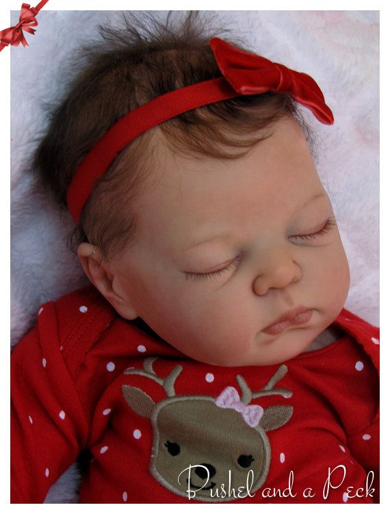 CUSTOM Order for Reborn Annie Baby Doll by by BushelandaPeckReborn