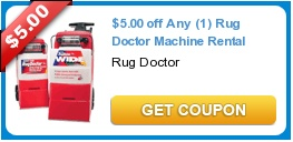 Rug doctor coupons publix