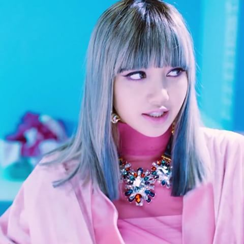 160808 WHISTLE LISA RAP PART Blackpink Youtube Update I Loved Her Hair  L