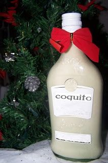 Coquito☀Puerto Rico☀ My Grandmother would make a bottle of this for all adult friends and family members every Christmas. It was my job to grate the coconut and we didn't have food processor back then. I miss helping her do this.