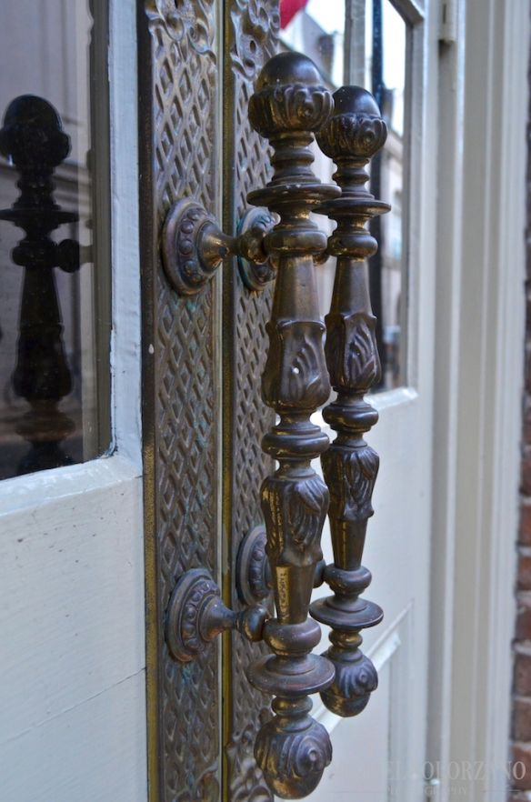 Door Handles Of The French Quarter