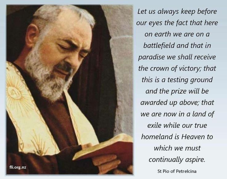 saint padre pio prayer