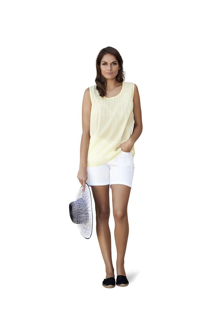 soyaconcept - top - blouse - shorts - hat