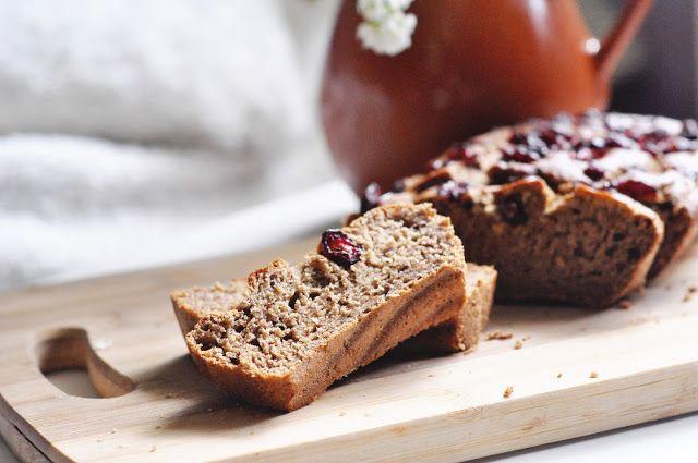 Czarna wisienka: Najprostszy chlebek bananowy (przepis podstawowy) | bez cukru, wegański |
