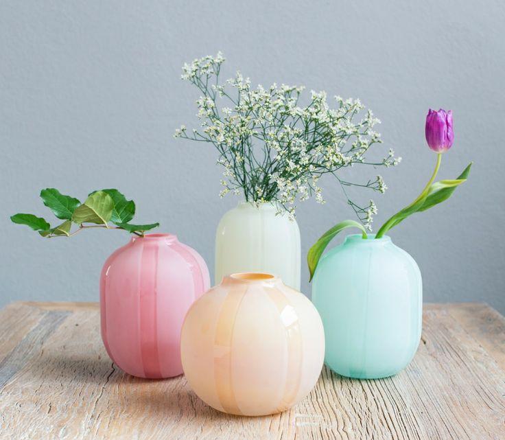 Vaser fra Magnor Glassverk