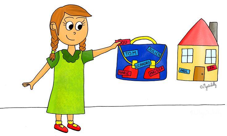 Marquer les présents et les absents à la maternelle