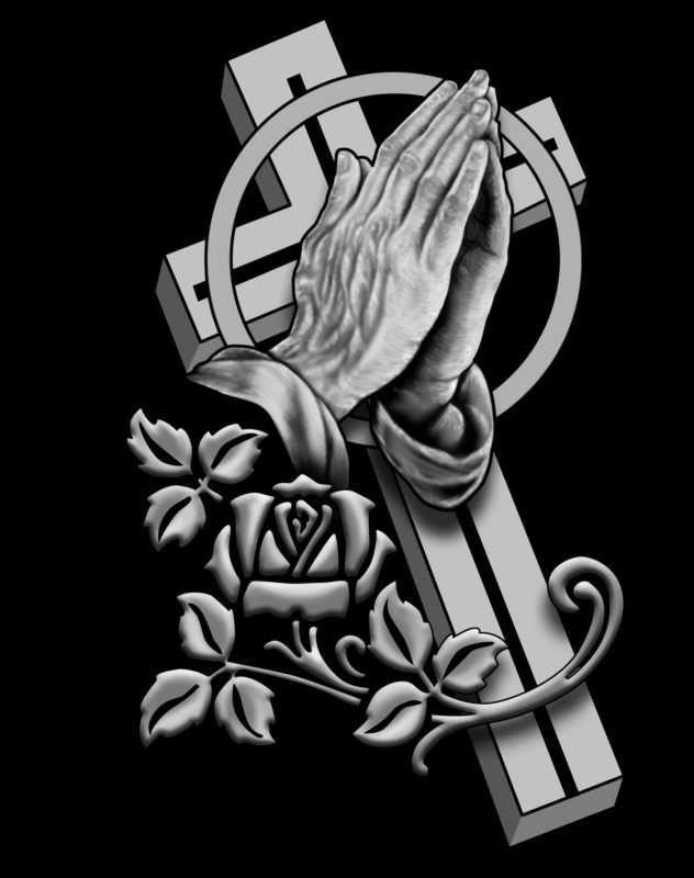 Free Tattoo Designs Of Praying Hands