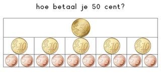 Juf Inger: hoe betaal je 50 cent?