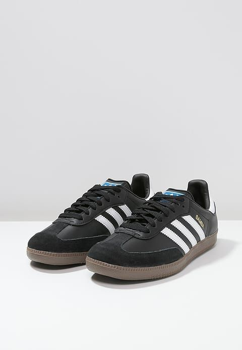 Chaussures adidas Originals SAMBA - Baskets basses - black/white noir: 48,95 € chez Zalando (au 25/10/17). Livraison et retours gratuits et service client gratuit au 0800 915 207.