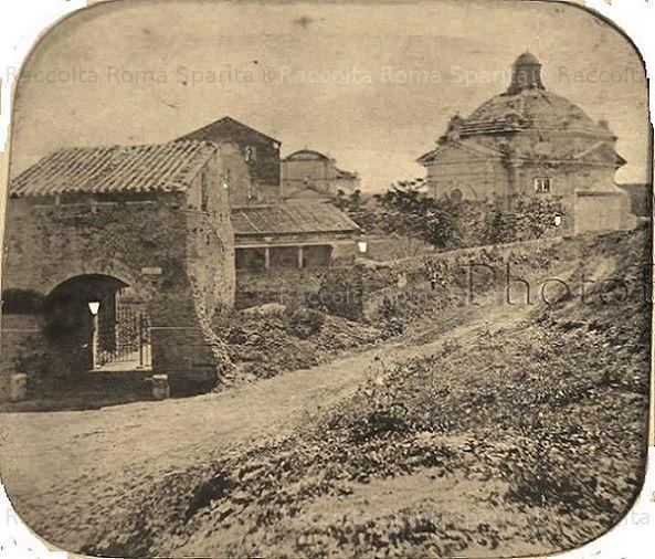 Abbazia delle Tre fontane Anno: 1865 ca