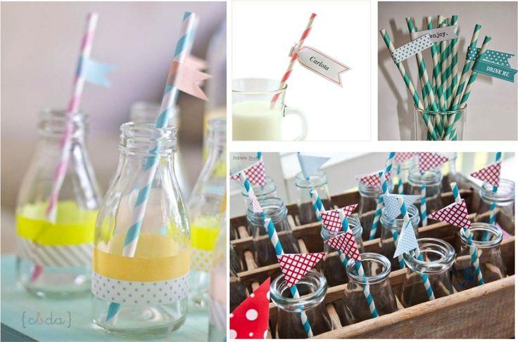 10 ideas para decorar tu boda con washi tape pinterest washi tu boda y scrapbooking - Decorar con washi tape ...