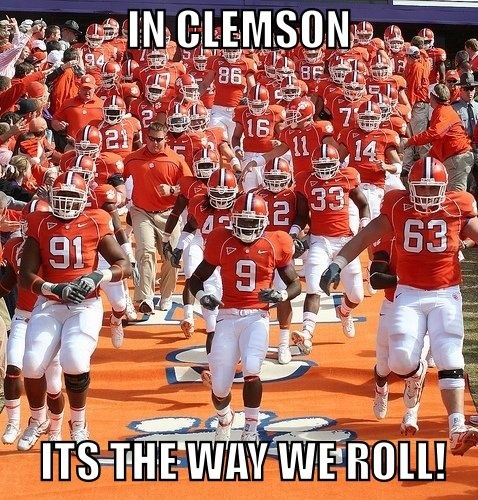 "Clemson Tigers Run Down The Hill!!! Bebe'!!! "" The Most Exciting 17 Seconds In College Football""!!!"