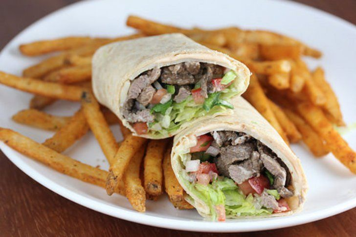 Pin for Later: 16 Easy Wraps That Will Have Your Kid Begging For Lunch Time Pepper Jack Steak Wraps