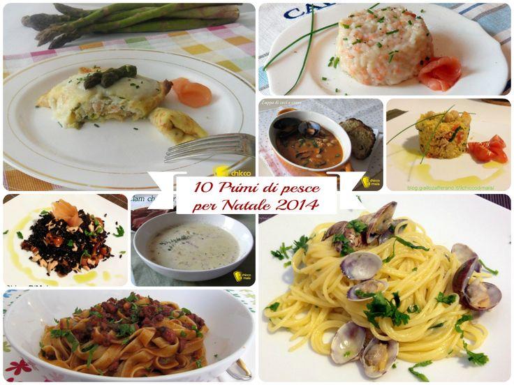 10 primi di #pesce per #Natale 2014 #ricette facili il #chiccodimais #seafood #christmas #recipes #xmas #italy #italian http://blog.giallozafferano.it/ilchiccodimais/10-primi-di-pesce-per-natale-2014-ricette-facili/