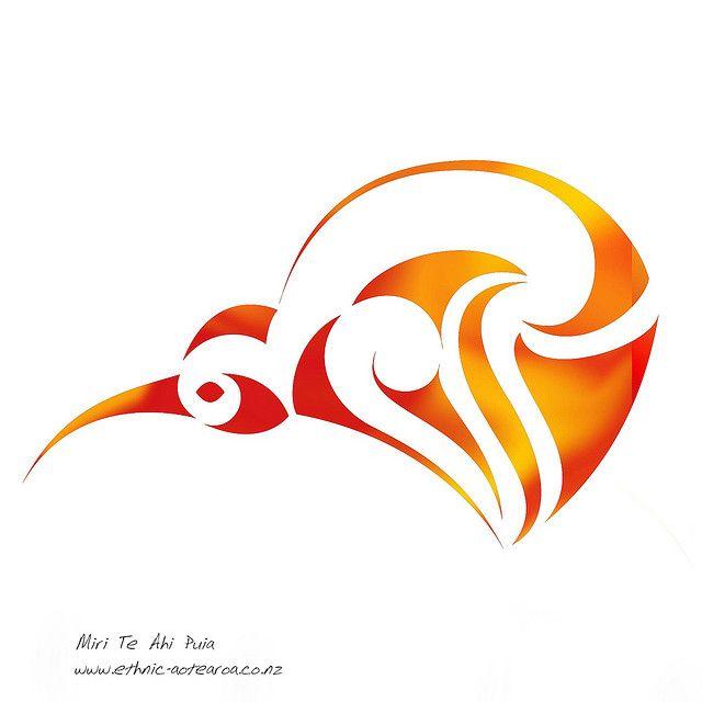 Maori Art - Aotearoa Kiwi