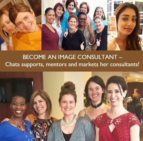 BECOME AN IMAGE CONSULTANT: Love what you do and earn an income whilst doing it! We inspire and empower women to look and feel their very best. Our consultants are personally trained by Chata to conduct Personal Consultations, Makeovers and Corporate Workshops. Chata provides excellent support, mentoring and marketing post-certification. ONLY 2-WEEKS TO GO! Next training in March 2018 – please click here for more info http://chataromano.com/become-a-consultant