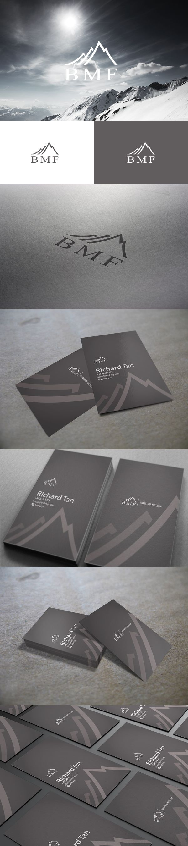 66 best bizz card images on pinterest business cards corporate bmf is a finance and investment company singapore identity project for bmf business card double sided printing matte lamination with spot uv effect reheart Choice Image