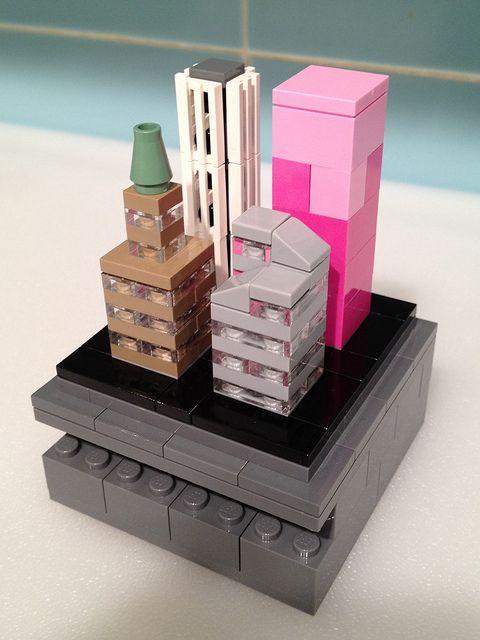 Bricks Cascade Trophy: Best Micropolis by ri co le go, via Flickr