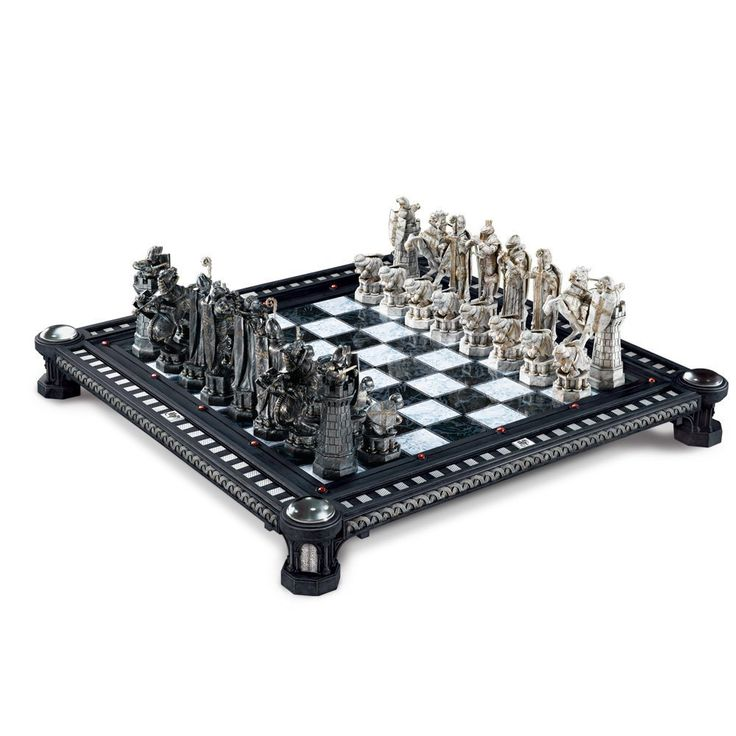 Amazon.com: Harry Potter Final Challenge Chess Set: Toys U0026 Games