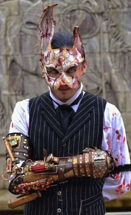 Hey, I found this really awesome Etsy listing at http://www.etsy.com/listing/104164663/bioshock-splicer-rabbit-mask