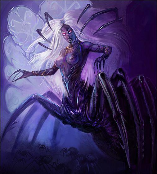 Lolth | Obsidian Portal   Demon Queen of Spuiders