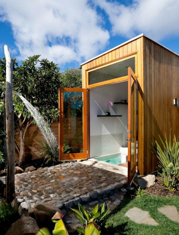Outdoor Dusche Bauen : Outdoor Dusche f?r erfrischende Momente im Sommer