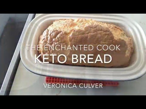 The Enchanted Cook: 2 Ingredient Low Carb Bread - Bulletproof, Keto, Paleo