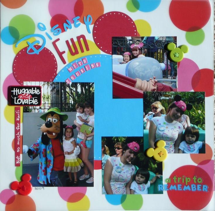 Disney Fun - Scrapbook.com