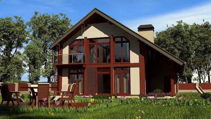 3D Animation house  - prefabricated house design - Simont Novi Sad Srbija