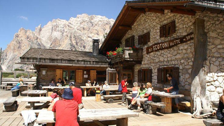 Scotoni Berghütte - - Urlaub in Südtirol - St. Kassian in Alta Badia in den Dolomiten