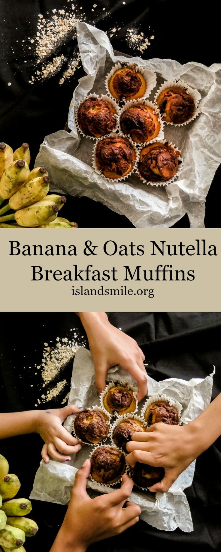 When Breakfast has to be quick, easy and kid friendly, this Banana and Oats with a swirl of Nutella fits in perfectly as a go to Breakfast especially this holiday season. Its the easiest breakfast to make. The recipe comes with a how-to images makimg it easier to follow.