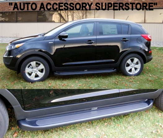 Now these Kia Sportage running boards makes this vehicle look awesome!