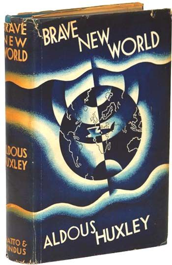 analysis of dystopian worlds in huxley s Aldous huxley's novel brave new world explains how society turns into a dystopian future he shows a world  - postman's analysis of brave new world.