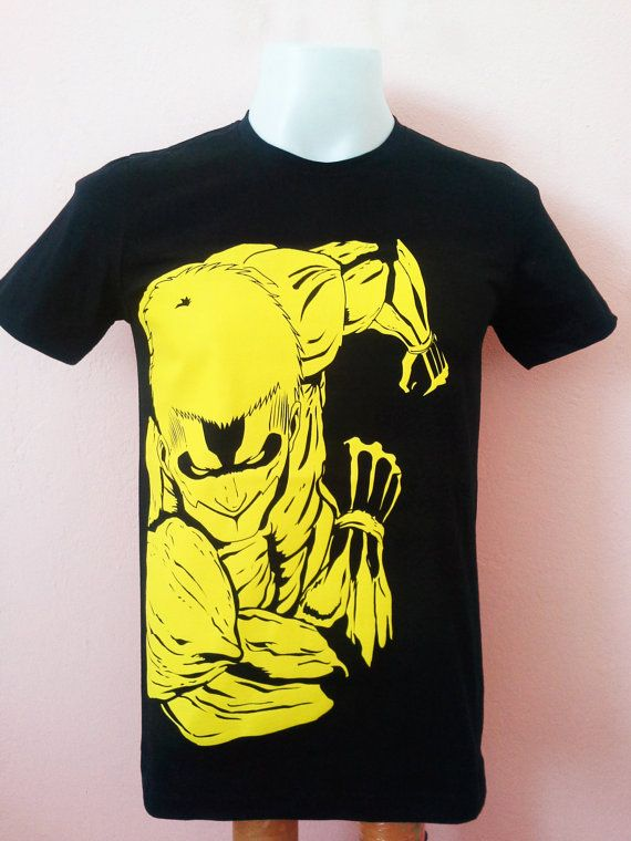 Cartoon Tshirt Attack on Titan Design Armored Titan by SpaceBlah, ฿470.00