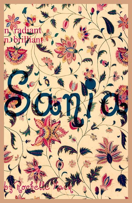 Baby Girl Name: Sania or Saniya. Pronounced: Sahn-yuh or Suh-ny-uh. Meaning: Radiant; Brilliant. Origin: Arabic; Hindu. https://www.pinterest.com/vintagedaydream/baby-names/