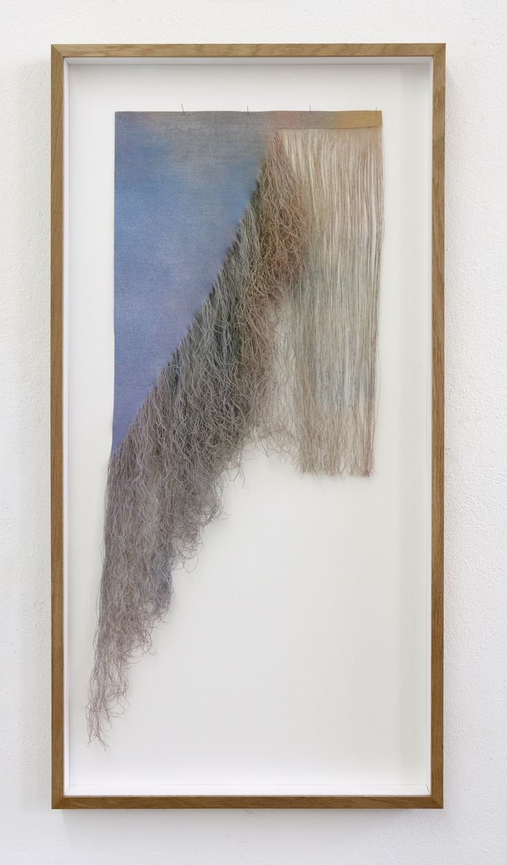 Drag me to hell #6 (with frame), by the contemporary Swedish artist Charlotte Walentin. 2015.
