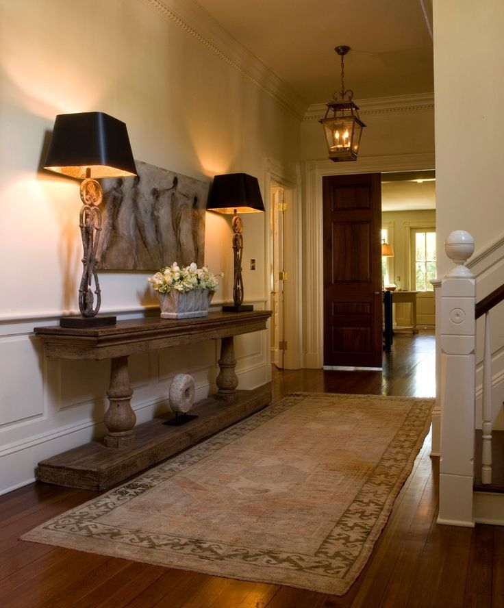 25 Wonderful Conventional Entry Design Concepts #Traditionaldecor