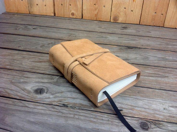 Libro de notas, agenda, de cuero, hecho a mano, vi                                                                                                                                                                                 Más