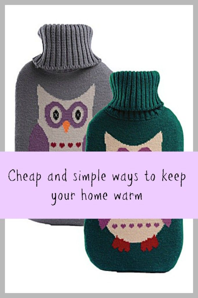 Cheap and simple ways to keep your home warm this winter. Thrifty tips for your home to keep it warm and cosy on a budget. Money saving tips and frugal advice for winter