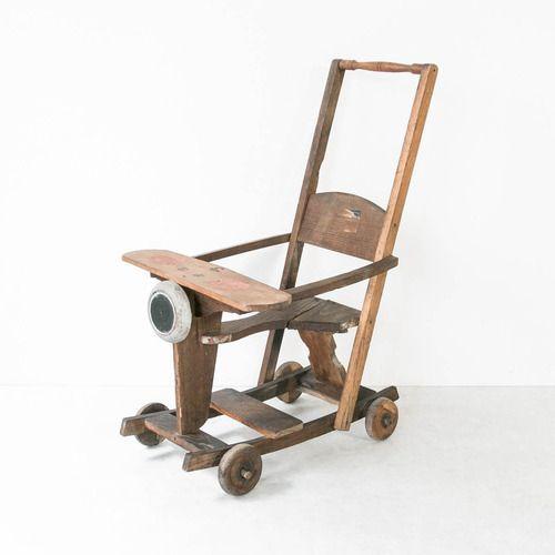 零戦モデル手押し車 #古民具 #日本 #antique #vintage #japan #japanesestyle