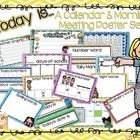 This resource is filled with activities and conceptual application of calendar time/morning meeting. Children will be able to write on the posters ...