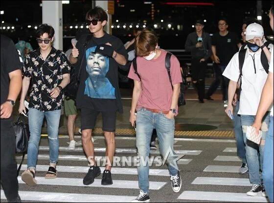 Exo Suho, Chanyel, & Baek goes to Hawai with SM