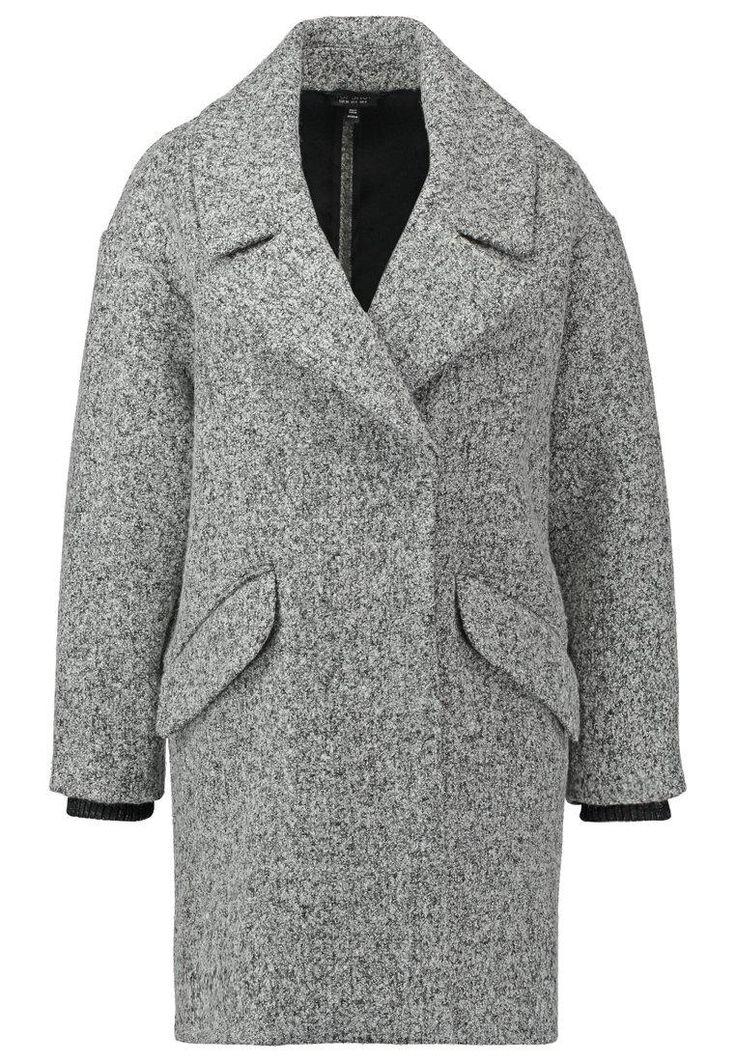 Topshop AMELIA SLOUCH    Płaszcz wełniany /Płaszcz klasyczny grey image