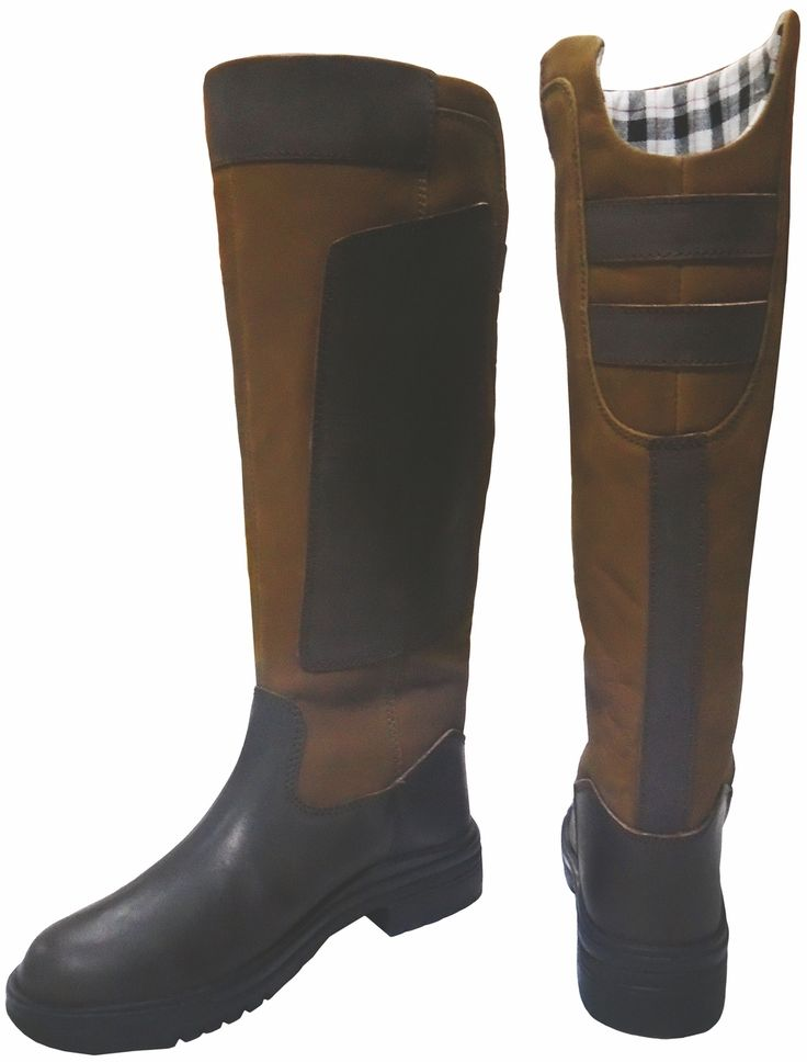 Derby House Pro Leather and Suede Long Riding Boots glHjMpnN
