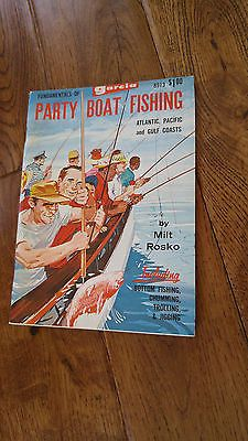 Old-time Garcia Fundamentals of Party Boat Fishing Book Milt Rosko 1968 #8913