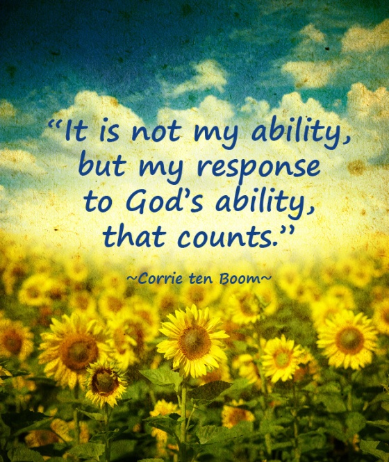 Famous Quotes About God: Best 11 Corrie Ten Boom Quotes Images On Pinterest