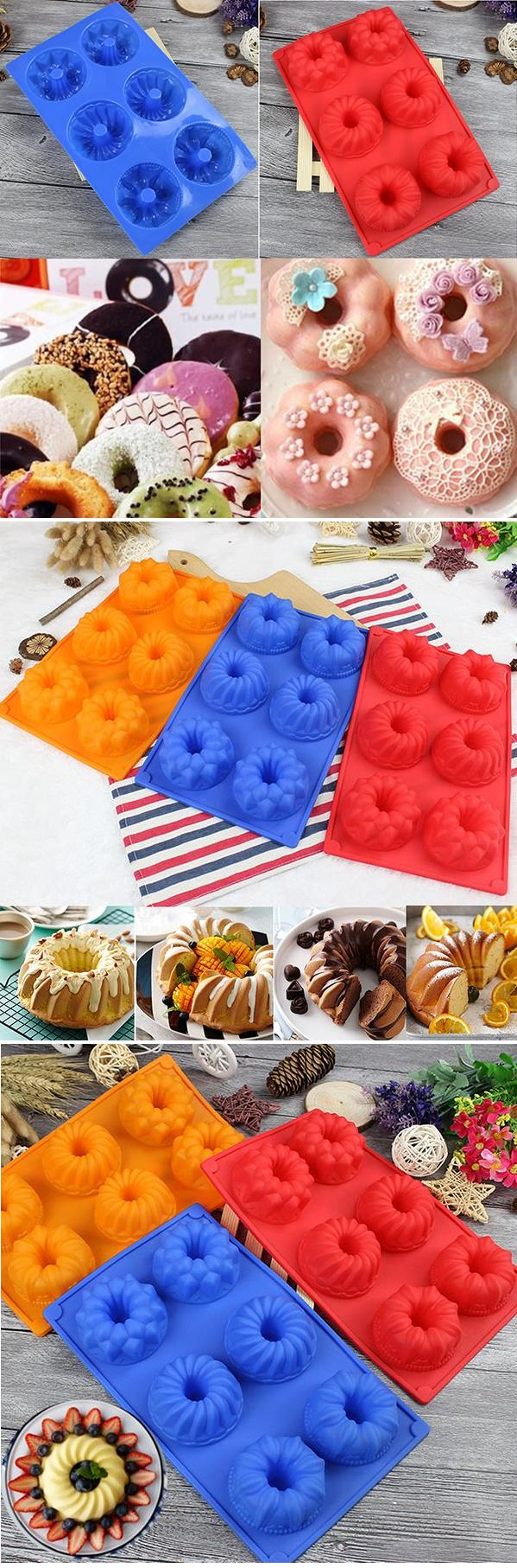 US$4.89 Silicone Cupcake Mold DIY Muffin Chocolate Cake Candy Cookie Baking Mold Pan Tools