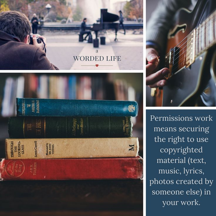 If you want to use someone else's work in your own, you need to seek their permission. A Worded Life can help...http://awordedlife.com/contact